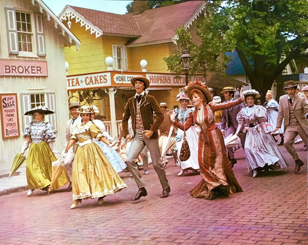 Photo from Hello, Dolly! Copyright 1968, by 20th Century Fox. All rights reserved.