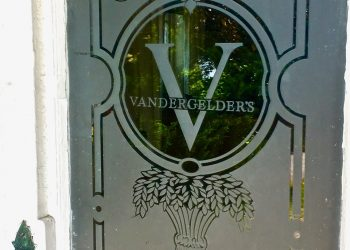 These windows were installed by 20th Century Fox, and are still here. V for Vandergelder's. ( Image: Private collection )
