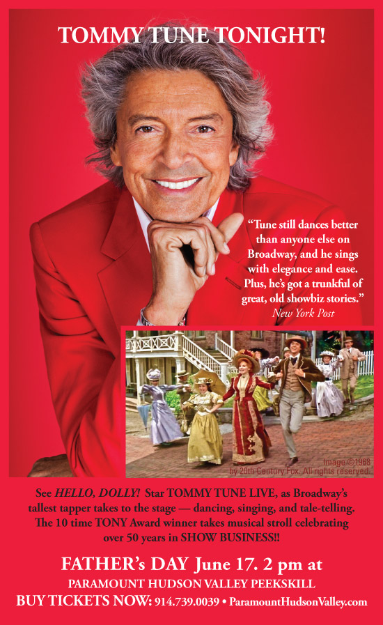 Tommy tune Tonight!