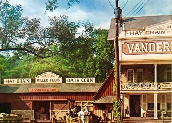 Photo from Hello, Dolly! Vandergelder's General Store, home of Horace Vandergelder, Yonkers' well known half-a-millionare. Copyright 1968, by 20th Century Fox. All rights reserved.