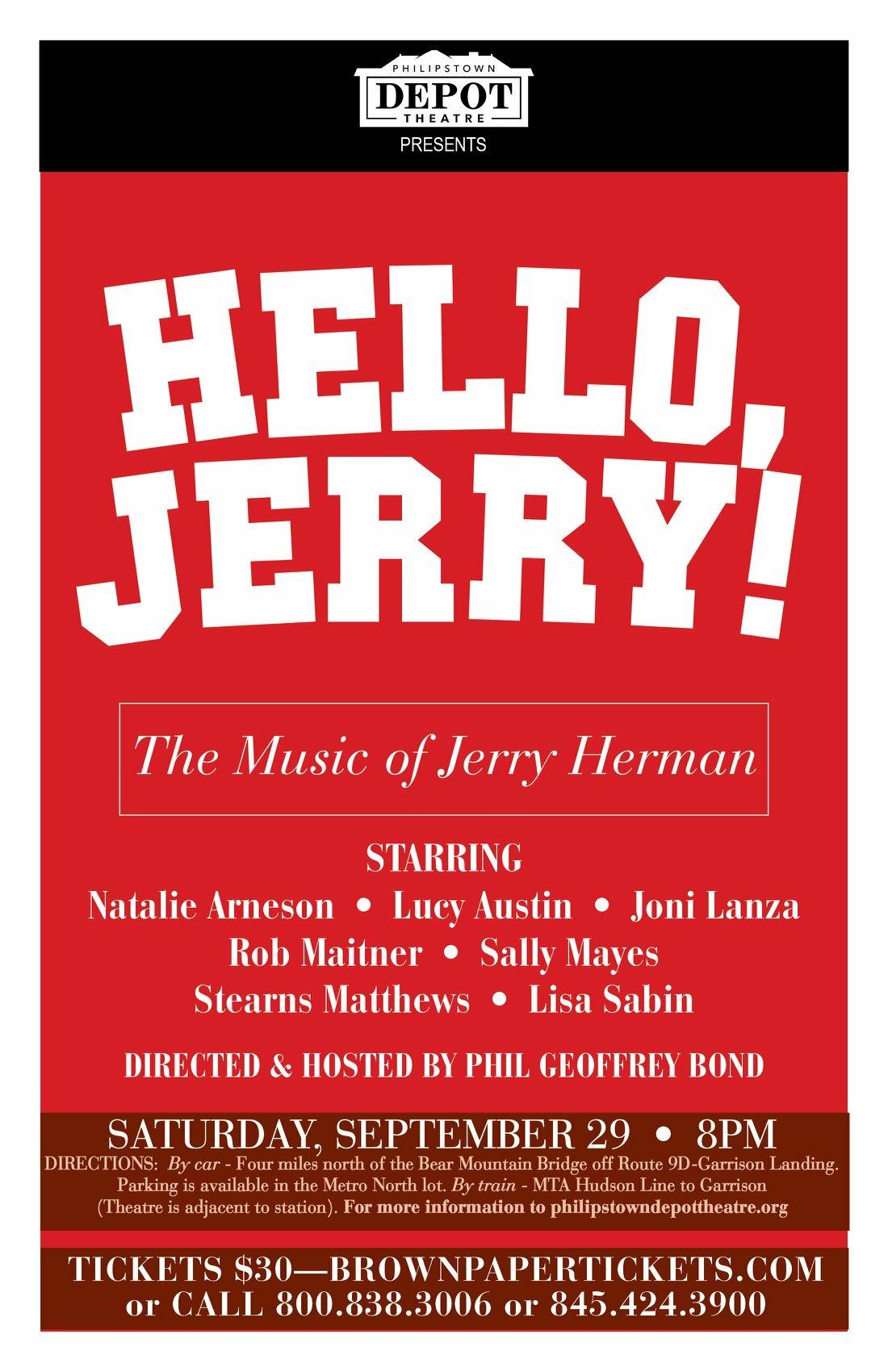 Hello Jerry!